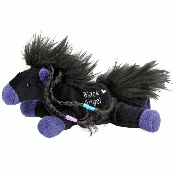 Miss Melody knuffel Black Angel (18 cm)