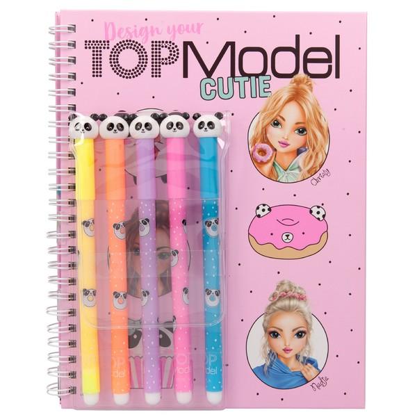 TOPModel Design your Cutie kleurboek