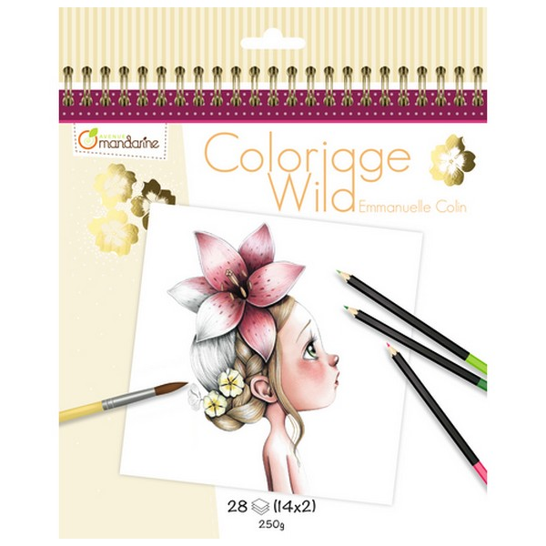 Kleurboek Coloriage Wild
