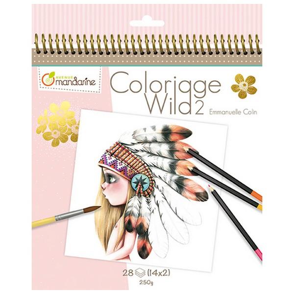 Kleurboek Coloriage Wild 2