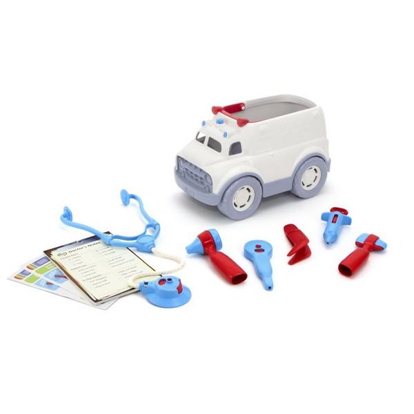 Green Toys Doktersset Ambulance