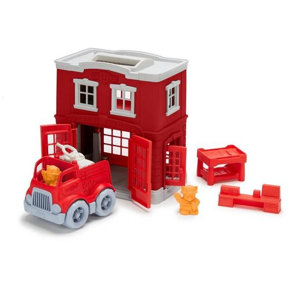 Green Toys Speelset Brandweerkazerne