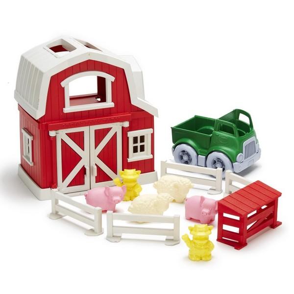 Green Toys Speelset Boerderij
