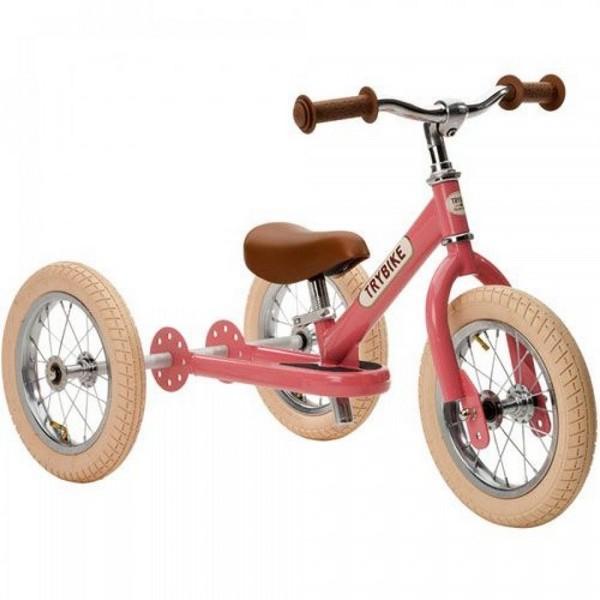 Trybike Staal Vintage Roze driewieler