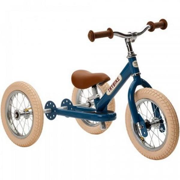 Trybike Staal Vintage Blauw driewieler