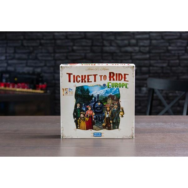 Ticket to Ride Europe Jubileumeditie