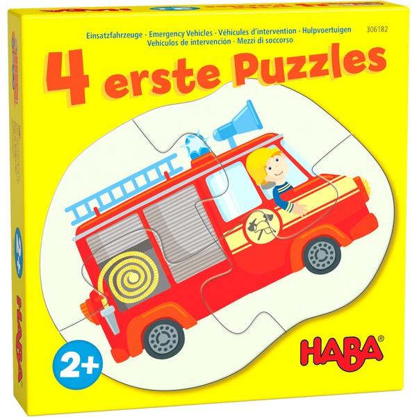 4 eerste puzzels Hulpvoertuigen