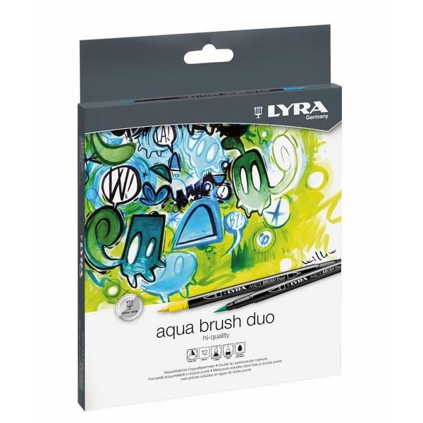 Aqua Brush Duo 12 stuks
