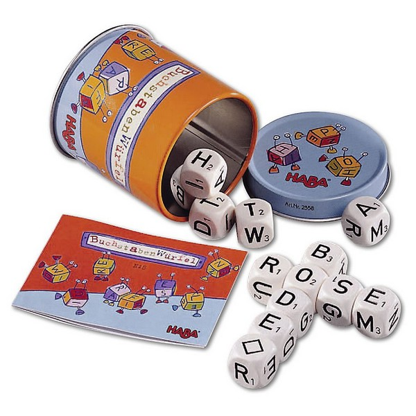 Scrabble met Letterstenen