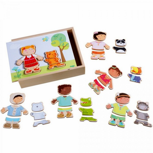 Houten Puzzel Wereldkinderen