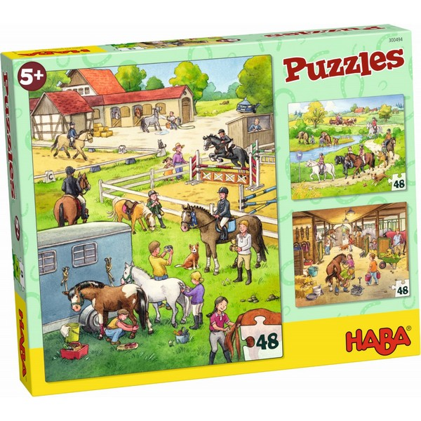 3-in-1-Puzzel Manege