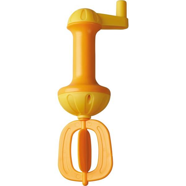 Badschuimklopper Geel-Oranje