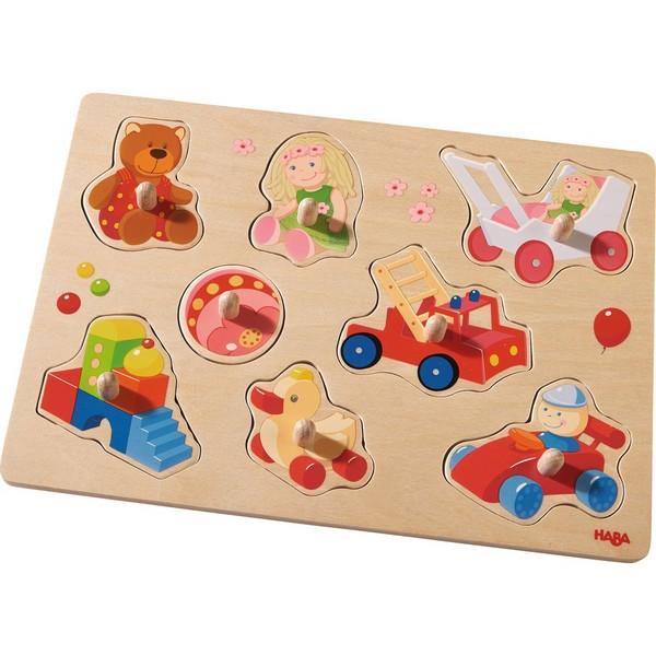 Inlegpuzzel Mijn eerste Speelgoed