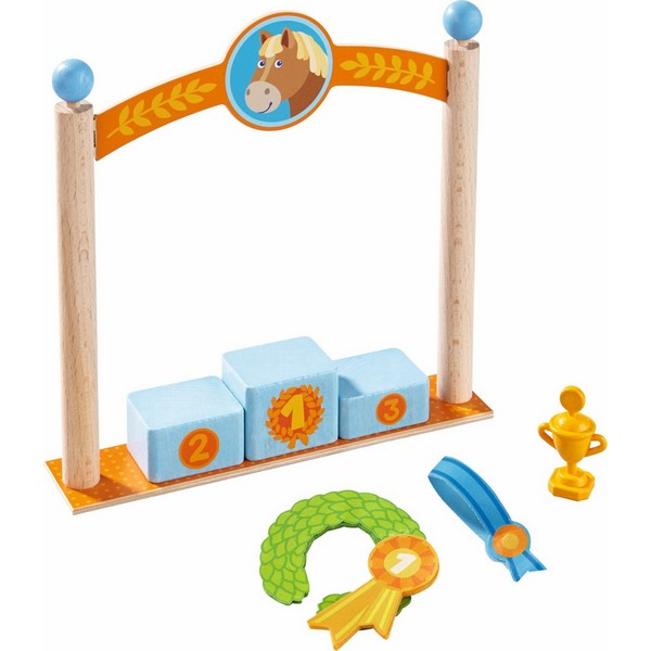 Little Friends Poppenhuis Speelset Erepodium