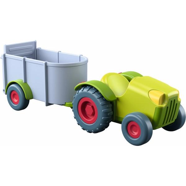 Little Friends Poppenhuis Voertuig Tractor met Aanhangwagen