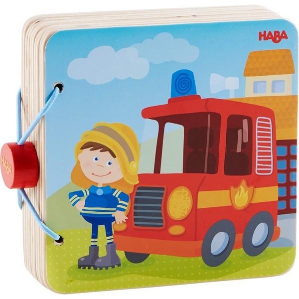 Babyboek hout Brandweer