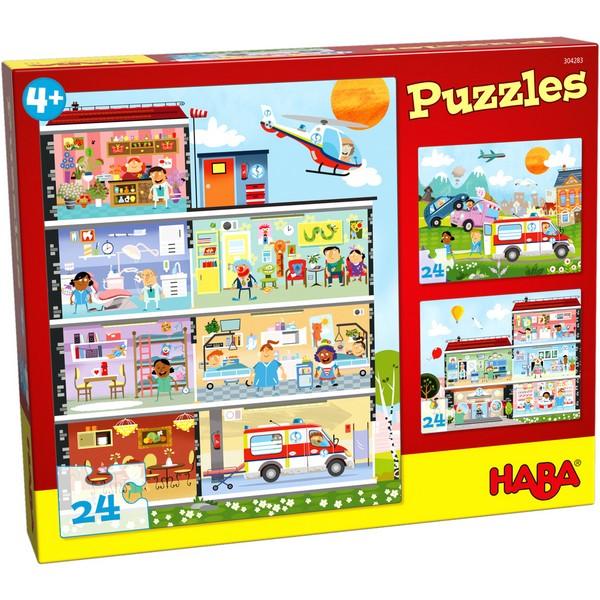 3-in-1-Puzzel Het Kleine Ziekenhuis