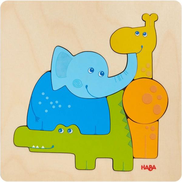 Houten Puzzel Zoodieren