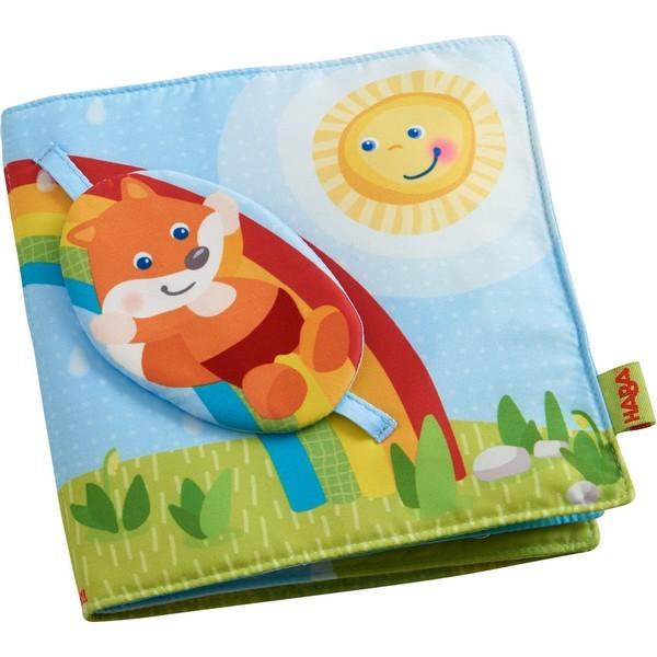 Babyboek stof Vos