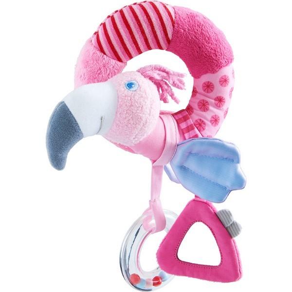 Grijpfiguur rammelaar stof Flamingo Gustaaf