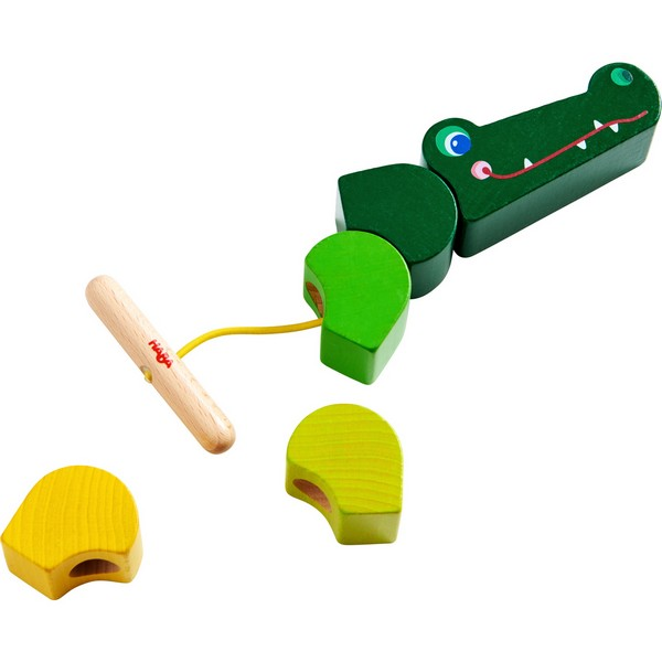 Rijgspel Krokodil