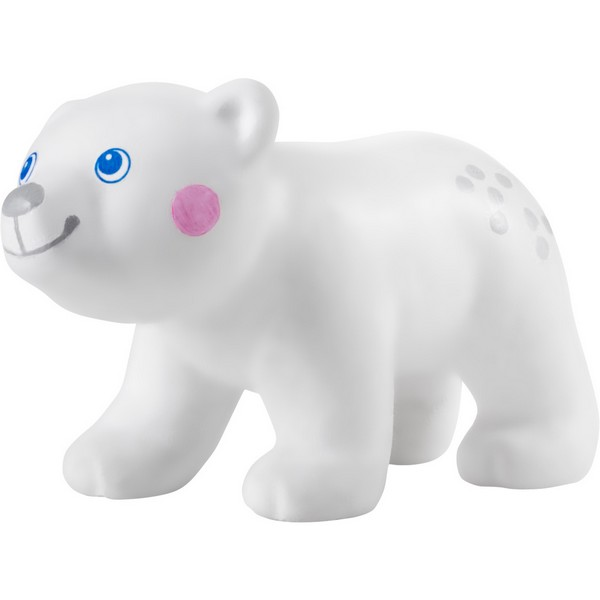 Little Friends Poppenhuispopje baby-ijsbeer