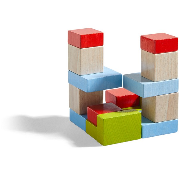 3D Compositiespel Vier Keer Vier