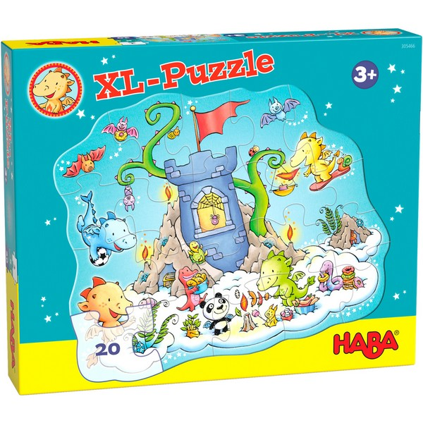XL Puzzel Draak Fonkelvuur Puzzle-Party