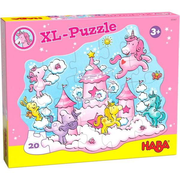 XL Puzzel Eenhoorn Flonkerglans Wolkenpuzzelpret