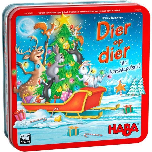 Dier op Dier; Het kerststapelspel