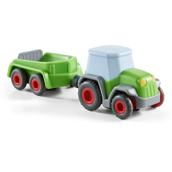 Rollebollen Kullerbü Tractor met aanhangwagen