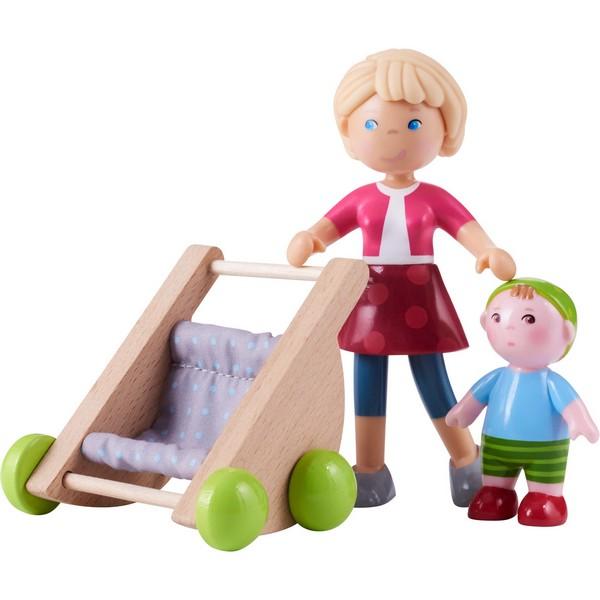 Little Friends Poppenhuispopje Mama Melanie en Baby Kilian