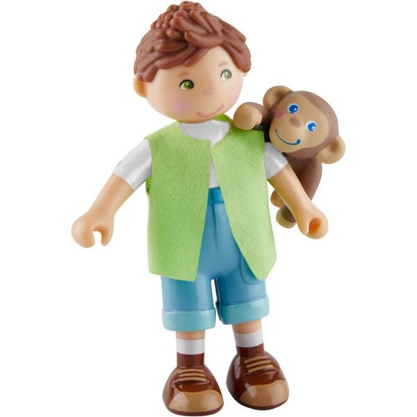 Little Friends Poppenhuispopje Julius en baby aapje