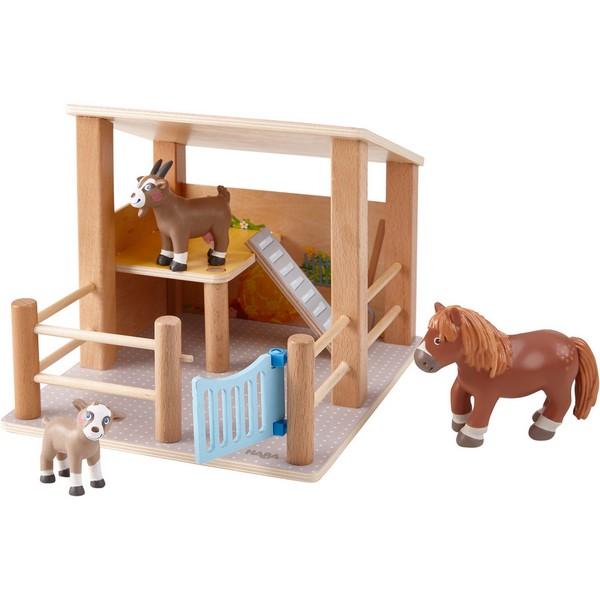Little Friends Poppenhuis Speelset Kinderboerderij