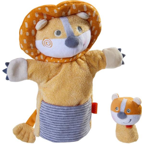 Handpop Leeuw met Baby