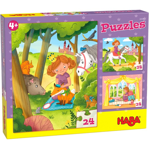 3-in-1-Puzzel Prinses Valerie