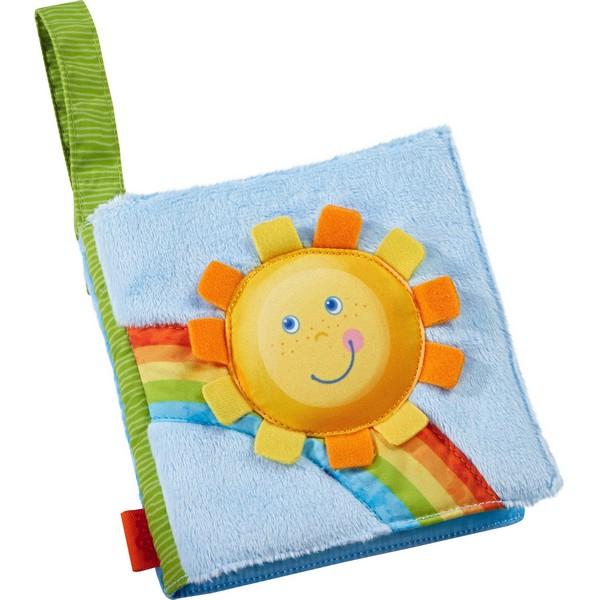 Babyboek stof Regenboogwereld