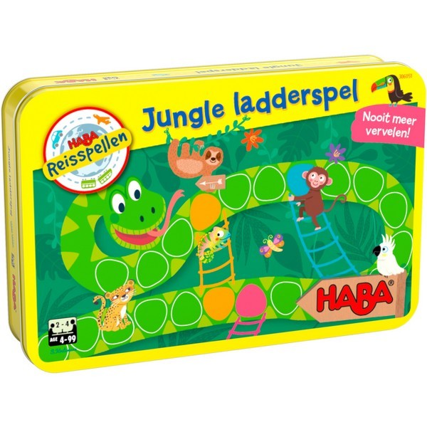Jungle ladderspel