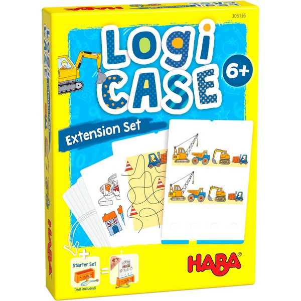LogiCASE Uitbereidingset Bouwplaats 6+
