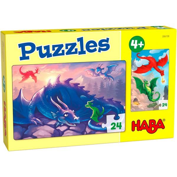 2-in-1-Puzzel Draken