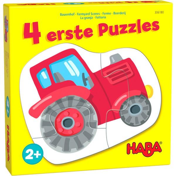4 eerste puzzels Boerderij
