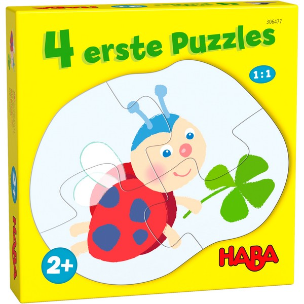 4 eerste puzzels In de Weide