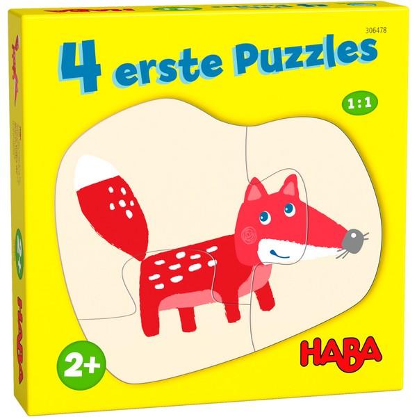 4 eerste puzzels In het Bos